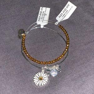 Alex and Ani sunflower bracelet